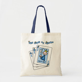 King of Chemo - Prostate Cancer Tote Bag