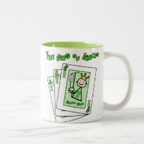 King of Chemo Two-Tone Coffee Mug