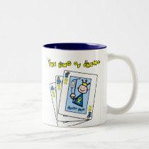 King of Chemo Two-Tone Coffee Mug