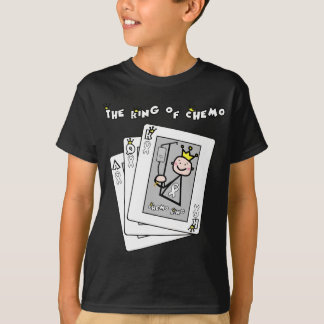 King of Chemo White Ribbon Lung Cancer T-Shirt