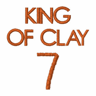 KING OF CLAY 7 EMBROIDERED SHIRTS