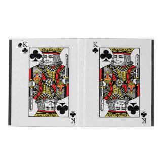 King of Clubs iPad Folio Case