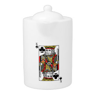 King of Clubs Teapot