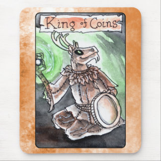 King of Coins Mouse Pad
