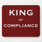 KING of Compliance Office Mousepad