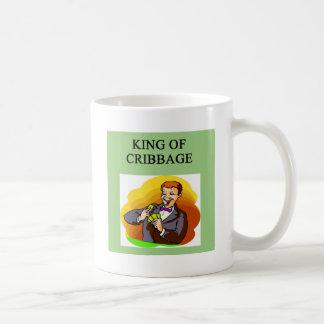 king of cribbage mug
