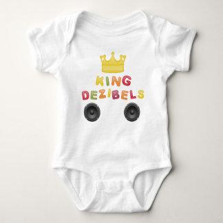 King of decibel baby bodysuit