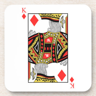 King of Diamonds - Add Your Image Coaster