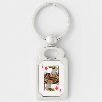 King of Diamonds - Add Your Image Keychain