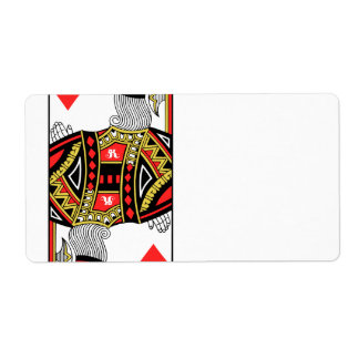 King of Diamonds - Add Your Image Label