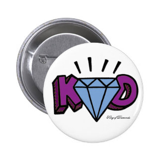 King of Diamonds Pinback Button