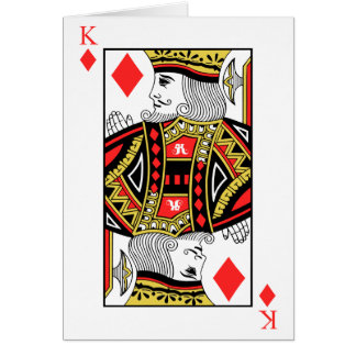 King of Diamonds Card