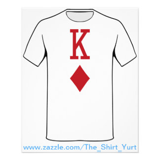 King of Diamonds Red Playing Card