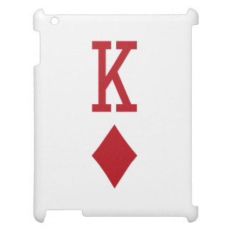 King of Diamonds Red Playing Card Case For The iPad
