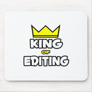 King of Editing Mouse Pad