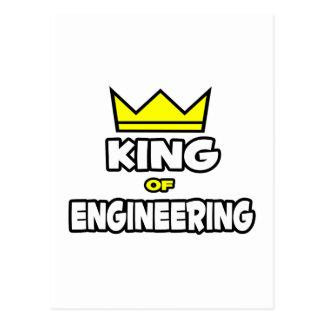 King of Engineering Postcard