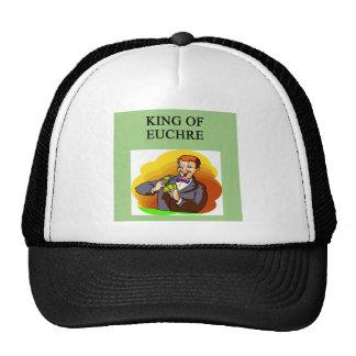 king of euchre trucker hats