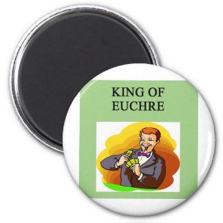 king of euchre refrigerator magnets