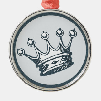 King of Everything Metal Ornament