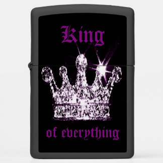 King of Everything ZIPPO Lighter