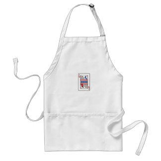 King of F Adult Apron