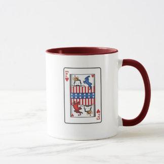 King of F Mug