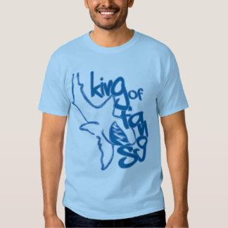 King of Fangs Blue T-shirts