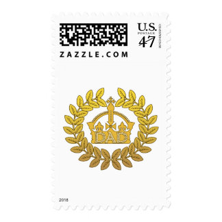 King of Father's Day Postage
