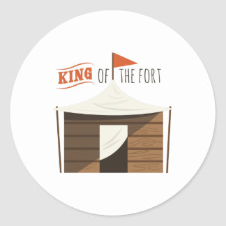 King Of Fort Classic Round Sticker