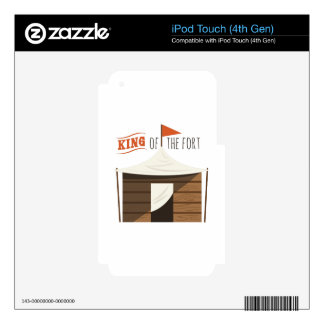 King Of Fort Decals For iPod Touch 4G