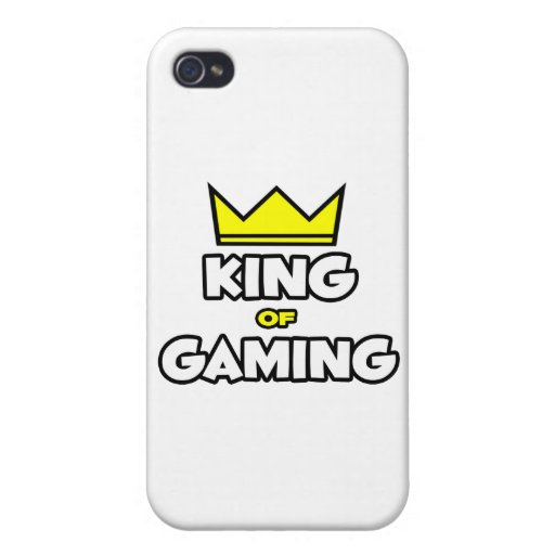 King of Gaming iPhone 4/4S Cases
