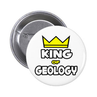 King of Geology 2 Inch Round Button