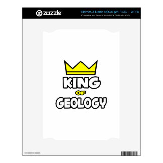 King of Geology Decal For NOOK