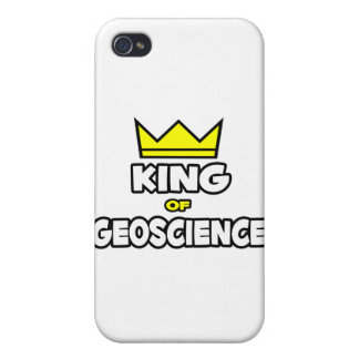 King of Geoscience iPhone 4/4S Cases