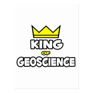 King of Geoscience Postcard