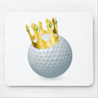 King of golf mouse pad