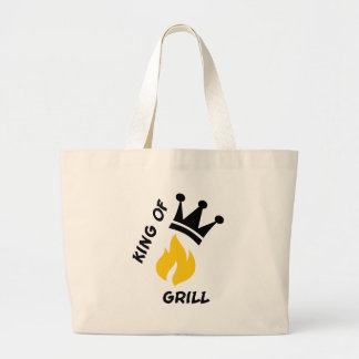 King of Grill Tote Bag