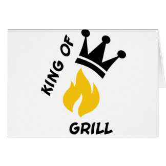 King of Grill Card