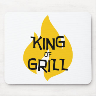 King of Grill Mouse Pad