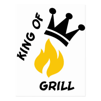 King of Grill Postcards