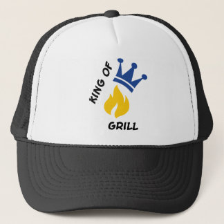 King of Grill Trucker Hat