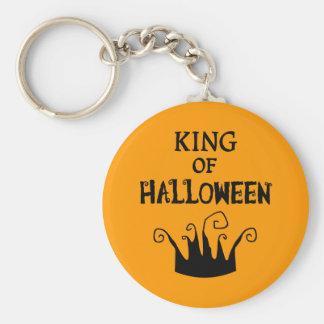King of Halloween Keychain