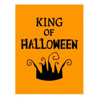 King of Halloween Postcard