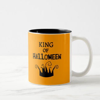 King of Halloween Two-Tone Coffee Mug