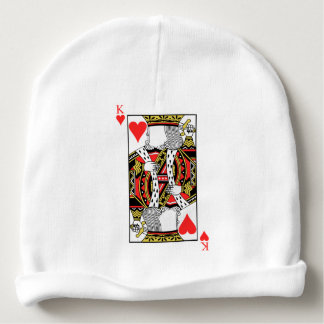 King of Hearts - Add Your Image Baby Beanie
