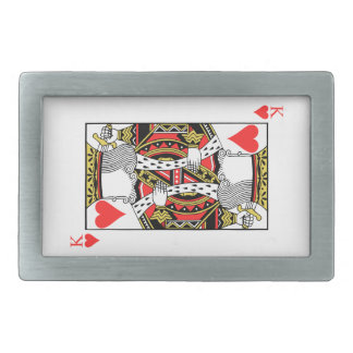 King of Hearts - Add Your Image Rectangular Belt Buckle