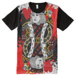 King Of Hearts All-Over-Print T-Shirt