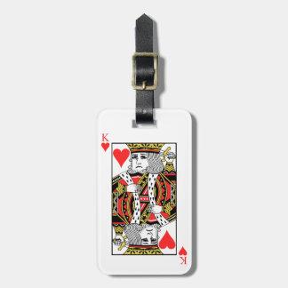 King of Hearts Bag Tag