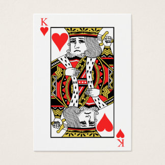 King of Hearts Business Card