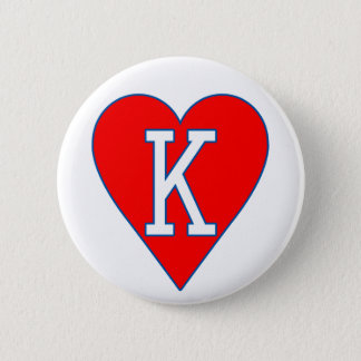King of Hearts Button